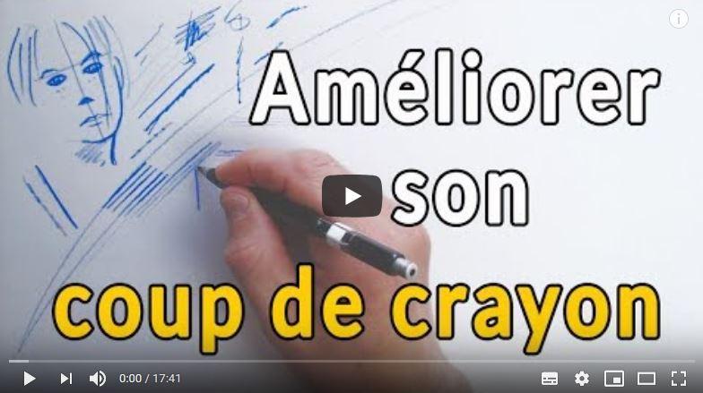 Comment ameliorer son coup de crayon